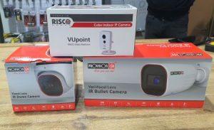 מצלמות אבטחה כולל התקנה במבצע